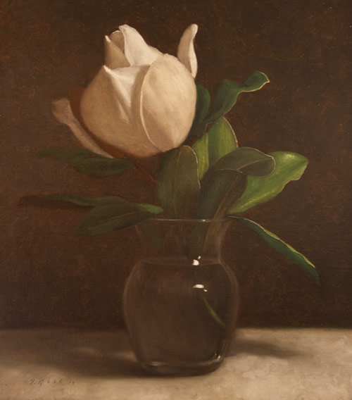 Jonathan Koch - Magnolia and Glass Vase