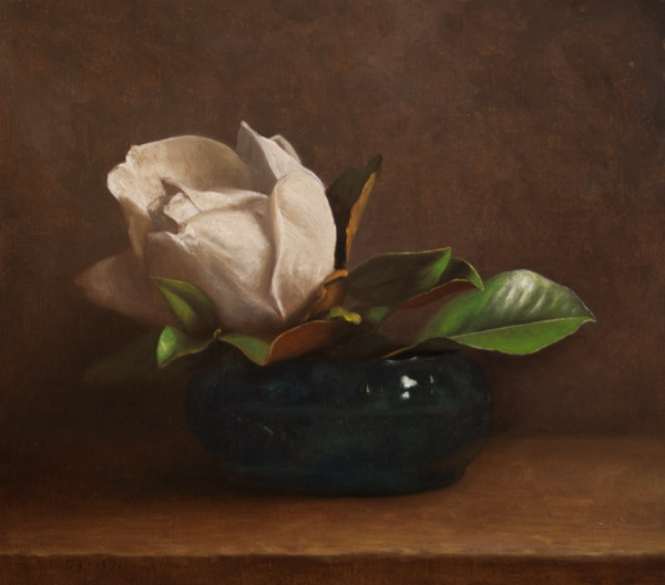 Jonathan Koch - Magnolia in Glass Bowl